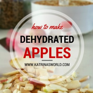 HowToMakeDehydratedApples