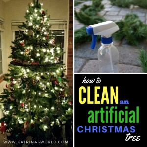 CleanChristmasTree